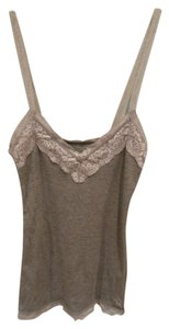 Abercrombie & Fitch Lace Xl Moose Cute Stretch Top Grey