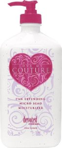 Devoted Creations Devoted Creations Love My Couture Tan Extending Micro-Bead Moisturizer Lotion 18.75 oz - 80% Full