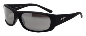 Maui Jim Maui Jim Matte Black Rubber/Neutral Grey Lens 281-02MR Sunglasses