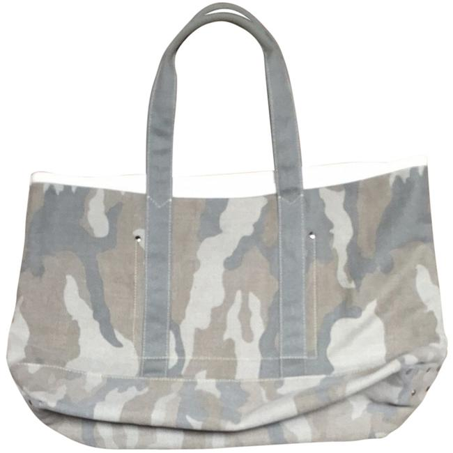 Item - Green Camouflage Canvas Tote