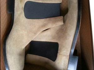 Gucci 3/4 MENS GUCCI 3/4 BOOTS IN SUEDE LEATHER Boots