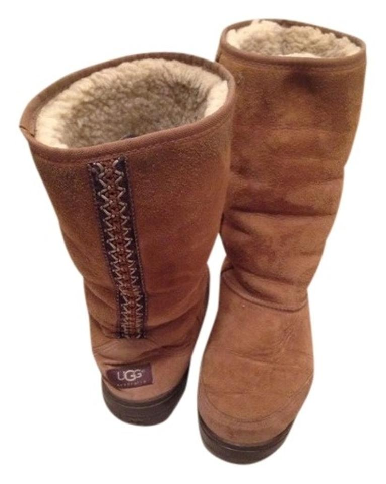 premium selection 24bf3 22d17 UGG Australia Chestnut Uggs Ultra Tall #5245 Boots/Booties Size US 9 Wide  (C, D) 84% off retail