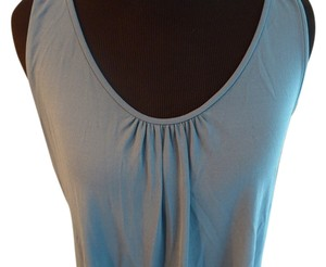 Eileen Fisher Silk Top Dark Turquoise Blue