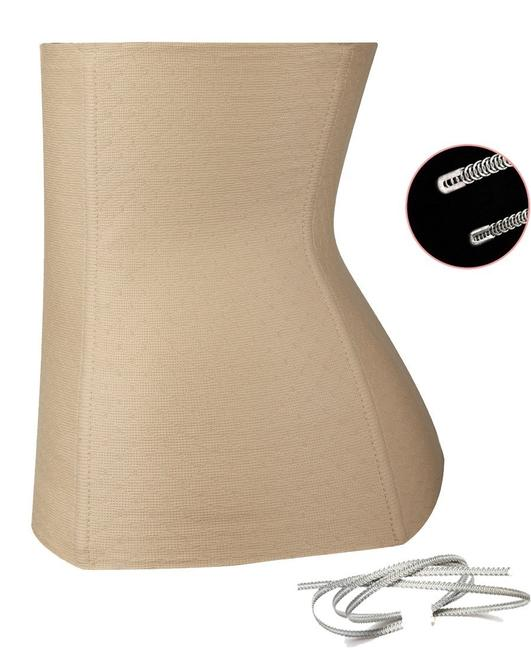 Other Women Waist Trainer Cincher Underbust Corset Body Shaper Shapewear Nude Size Large