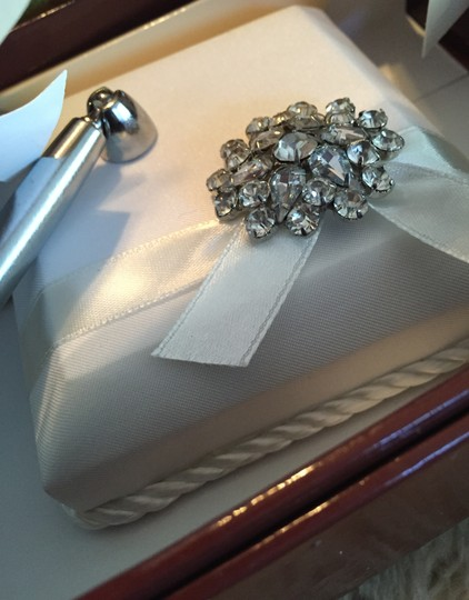 Ring Bearer Pillow And Luxe Pen For Love