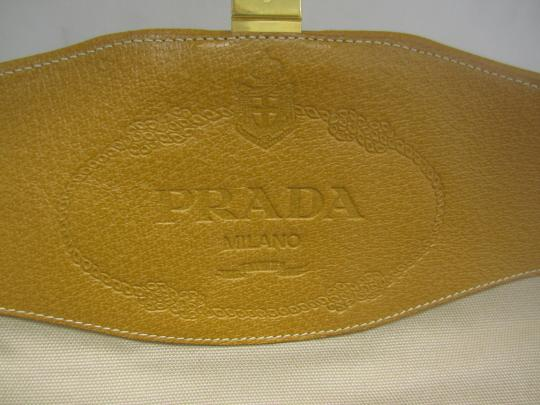 Prada Satchel in Camel