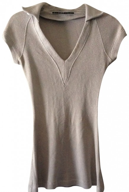 Richard Tyler Silk Trim Tunic