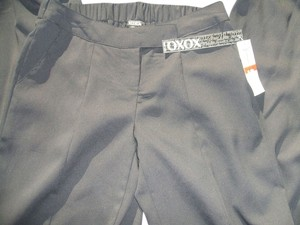 XOXO Wide Leg Pants Black