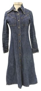 Landlubber Dark Wash Denim Womens Jean Jacket