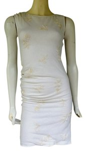 Whistles short dress Ivory Stretch Bodycon on Tradesy