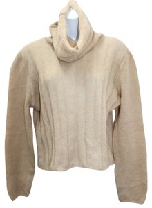 CARLA C. Cowl Neck Mohair Silk Knit Sweater