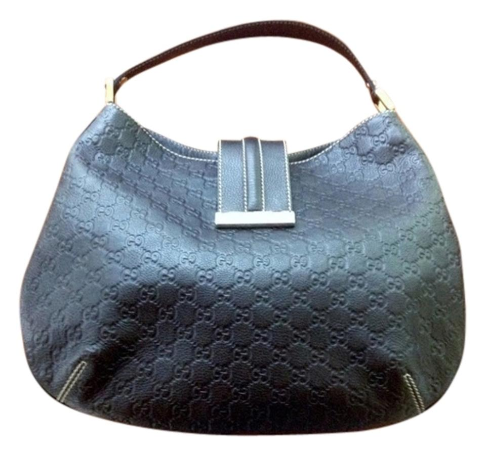 d1a5b0d750dd55 Gucci Purse Preowned Guccissima Like New Fast Ship Shoulder Hobo Bag Image  0 ...