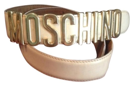 Preload https://item5.tradesy.com/images/moschino-gold-vintage-90s-cream-leather-belt-4107394-0-0.jpg?width=440&height=440