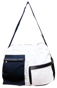 Ermenegildo Zegna Sport White, Blue Travel Bag