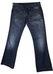 Diesel Denim Boot Cut Jeans-Distressed