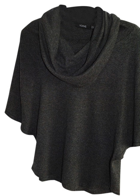Item - Batwing Cowl Neck Grey Sweater