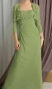 Caterina Green Dress