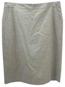 Banana Republic Skirt LIGHT GRAY