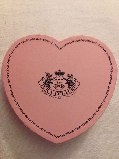 Juicy Couture Juicy Couture Clear Heart Earring