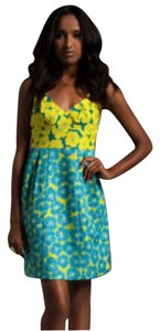 Nanette Lepore short dress Apple green/Aqua on Tradesy