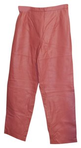 Terry Lewis Classic Luxuries Straight Pants Rose