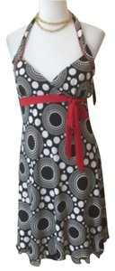 BCX short dress Black, white, red on Tradesy