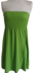Outlooks short dress Green on Tradesy
