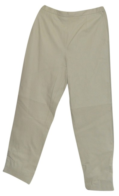 Terry Lewis Classic Luxuries Straight Pants Cream