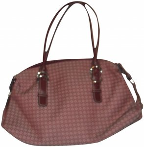 Nine West Hand Shoulder Tote Purse Satchel in Marron