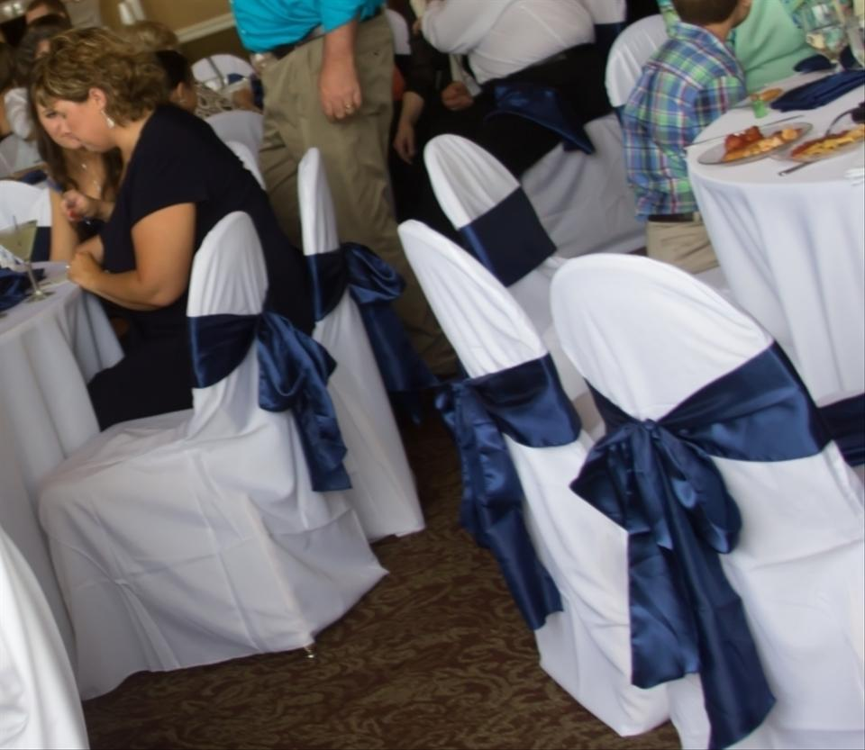 Phenomenal White Banquet Chair Covers Reception Decoration Caraccident5 Cool Chair Designs And Ideas Caraccident5Info