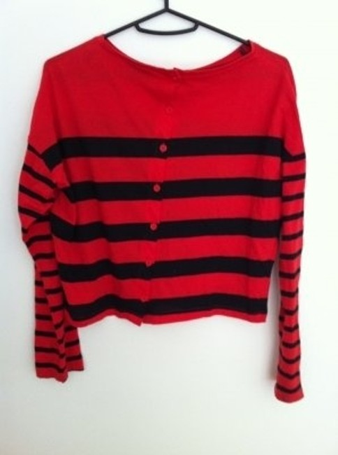 Topshop T Shirt Red and black