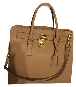 Michael Kors Satchel in Nude
