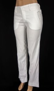 Vince V052820564 Womens Linen Stretch Wide Leg Trousers X Pants