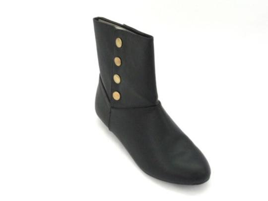 Chinese Laundry Noelle Womens Ankle Goat Black Boots