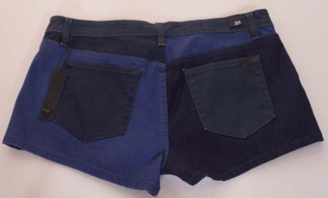 JOE'S Jeans Womens Daisy Blues Patched Stretch Denim Mf444856 Shorts Multi-Color