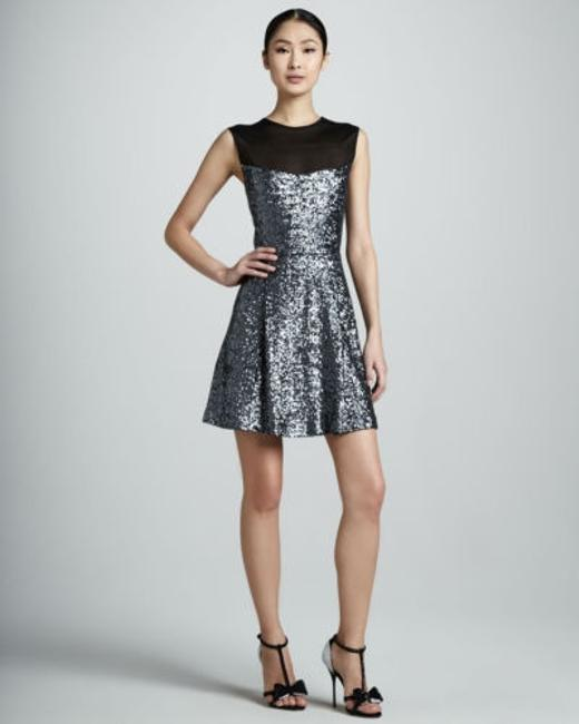 Preload https://item3.tradesy.com/images/nicole-miller-bn0647-womens-silver-sequin-sleeveless-above-knee-cocktail-dress-4111207-0-0.jpg?width=400&height=650