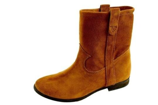 Vince Camuto Fanti Womens Verona Suede Leather Ankle Brown Boots