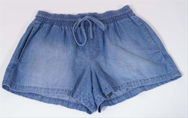 BB Dakota Collective Womens Denim Jean Cut Off Shorts Light Blue