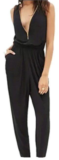 Preload https://item4.tradesy.com/images/a-gaci-black-with-zipper-long-romperjumpsuit-size-4-s-4111858-0-0.jpg?width=400&height=650