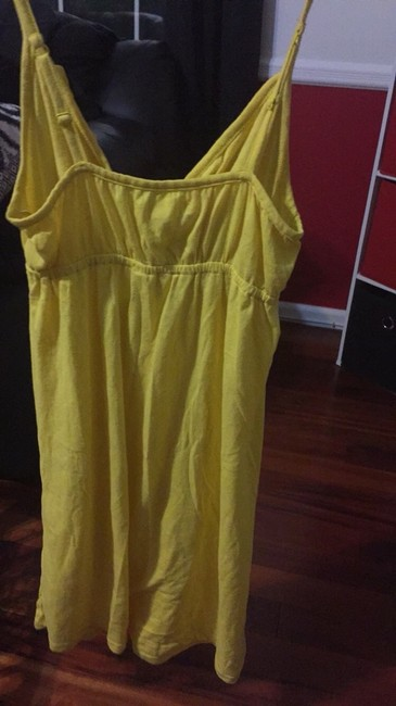 Aéropostale short dress Yellow on Tradesy