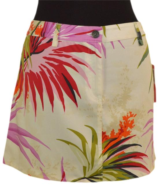 Etro Skirt White / Pink / Green / Reds