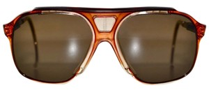 Bollé Vintage 80s BJORN BORG Masters Pro Tennis Aviator Bolle Sunglasses Brown NOS Mint made in France