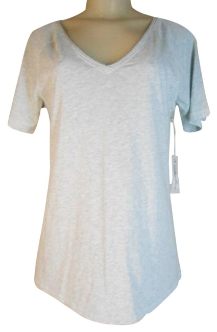 Item - Heather Grey Developed By True Grit Tee Shirt Size 4 (S)