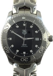 TAG Heuer Tag Heuer Link Diamond WJ1113 Stainless Steel Date 40mm Watch