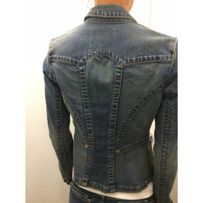 A.B.S. by Allen Schwartz Womens Jean Jacket