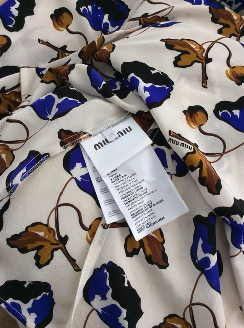 Miu Miu Button Down Shirt Multi