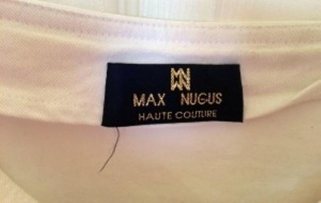 Max Nugus Skirt White, Blue, Silver