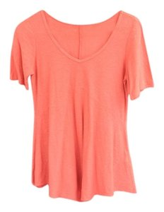 Cut Loose T Shirt Orange