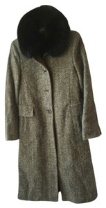 Madeline by alorna Fox Tweed Chevron Pea Coat