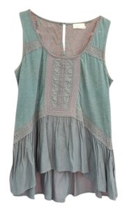 Anthropologie Top Blue/Green